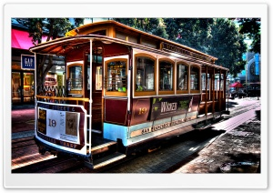 San Francisco Municipal Railway HD Wide Wallpaper for Widescreen