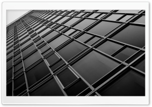 San Francisco Skyscrapers Bw HD Wide Wallpaper for Widescreen