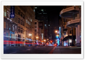 San Francisco Street HD Wide Wallpaper for Widescreen