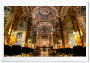 San Girolamo dei Croati, Rome, Italy HD Wide Wallpaper for Widescreen