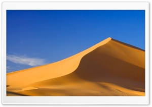 Sand Dunes Jabal Akakus Libya HD Wide Wallpaper for 4K UHD Widescreen desktop & smartphone
