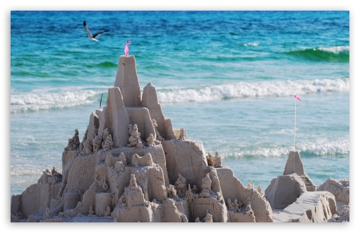 Sandcastles On The Beach HD wallpaper for Wide 16:10 5:3 Widescreen WHXGA WQXGA WUXGA WXGA WGA ; HD 16:9 High Definition WQHD QWXGA 1080p 900p 720p QHD nHD ; UHD 16:9 WQHD QWXGA 1080p 900p 720p QHD nHD ; Standard 4:3 5:4 3:2 Fullscreen UXGA XGA SVGA QSXGA SXGA DVGA HVGA HQVGA devices ( Apple PowerBook G4 iPhone 4 3G 3GS iPod Touch ) ; Tablet 1:1 ; iPad 1/2/Mini ; Mobile 4:3 5:3 3:2 16:9 5:4 - UXGA XGA SVGA WGA DVGA HVGA HQVGA devices ( Apple PowerBook G4 iPhone 4 3G 3GS iPod Touch ) WQHD QWXGA 1080p 900p 720p QHD nHD QSXGA SXGA ;