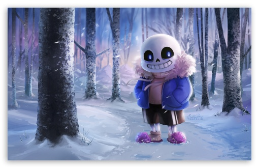 Sans Undertale 4K HD Desktop Wallpaper For 4K Ultra HD TV