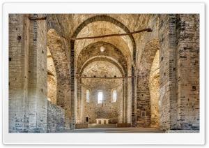 Sant Pere de Casserres Monastery, Church Catalonia Ultra HD Wallpaper for 4K UHD Widescreen desktop, tablet & smartphone