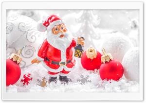 Santa Christmas Holiday Ultra HD Wallpaper for 4K UHD Widescreen desktop, tablet & smartphone