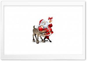 Santa Claus HD Wide Wallpaper for Widescreen
