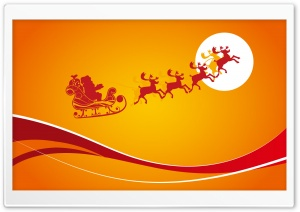 Santa Is Coming For Christmas 1 HD Wide Wallpaper for Widescreen