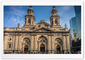 Santiago-catedral Metropolitana HD Wide Wallpaper for Widescreen