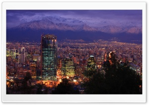 Santiago Chile 2009 HD Wide Wallpaper for 4K UHD Widescreen desktop & smartphone