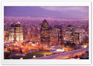 Santiago De Chile HD Wide Wallpaper for Widescreen