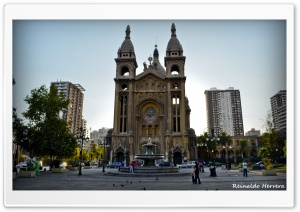 Santiago-Iglesia del Sacramento HD Wide Wallpaper for Widescreen