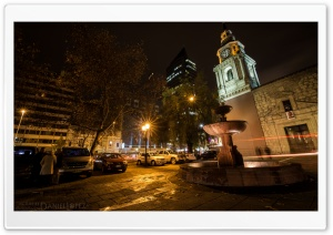 Santiago Nocturno HD HD Wide Wallpaper for 4K UHD Widescreen desktop & smartphone