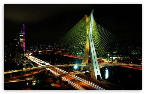 Sao Paulo Bridge HD wallpaper for Wide 16:10 5:3 Widescreen WHXGA WQXGA WUXGA WXGA WGA ; HD 16:9 High Definition WQHD QWXGA 1080p 900p 720p QHD nHD ; Standard 4:3 5:4 3:2 Fullscreen UXGA XGA SVGA QSXGA SXGA DVGA HVGA HQVGA devices ( Apple PowerBook G4 iPhone 4 3G 3GS iPod Touch ) ; iPad 1/2/Mini ; Mobile 4:3 5:3 3:2 16:9 5:4 - UXGA XGA SVGA WGA DVGA HVGA HQVGA devices ( Apple PowerBook G4 iPhone 4 3G 3GS iPod Touch ) WQHD QWXGA 1080p 900p 720p QHD nHD QSXGA SXGA ;