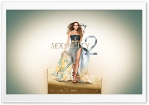 Sarah Jessica Parker as Carrie Bradshaw, Sex And The City 2 HD Wide Wallpaper for Widescreen