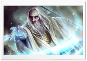Saruman HD Wide Wallpaper for Widescreen
