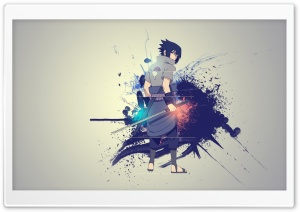 Sasuke Uchiha HD Wide Wallpaper for Widescreen