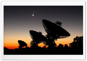 Satellite Array HD Wide Wallpaper for 4K UHD Widescreen desktop & smartphone