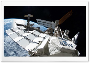 Satellite In Space HD Wide Wallpaper for Widescreen