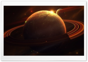 Saturn Ultra HD Wallpaper for 4K UHD Widescreen desktop, tablet & smartphone