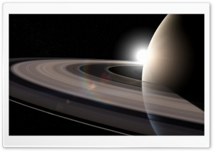 Saturn Rings Ultra HD Wallpaper for 4K UHD Widescreen desktop, tablet & smartphone
