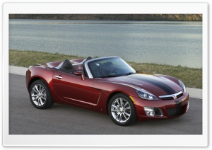Saturn Sky Turbo HD Wide Wallpaper for Widescreen