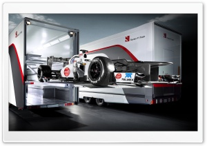 Sauber F1 Team HD Wide Wallpaper for Widescreen