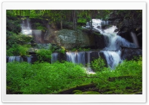 Sawkill Falls HD Wide Wallpaper for Widescreen