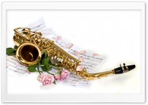 Saxophone HD Wide Wallpaper for Widescreen