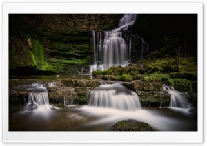 Scaleber Force Waterfall Ultra HD Wallpaper for 4K UHD Widescreen desktop, tablet & smartphone