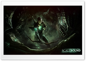 Scalebound 2014 Game HD Wide Wallpaper for Widescreen