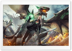 Scalebound Dante Ultra HD Wallpaper for 4K UHD Widescreen desktop, tablet & smartphone