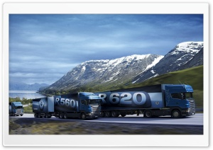 Scania Trucks HD Wide Wallpaper for Widescreen
