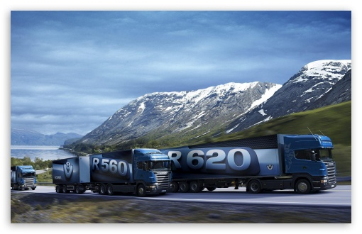 Scania Trucks Ultra Hd Desktop Background Wallpaper For