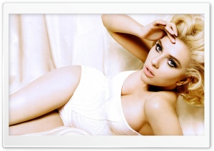 Scarlett Johansson HD Wide Wallpaper for Widescreen