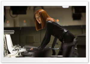 Scarlett Johansson - Black Widow HD Wide Wallpaper for Widescreen