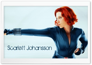 Scarlett Johansson Avengers HD Wide Wallpaper for Widescreen
