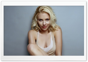 Scarlett Johansson Sexy HD Wide Wallpaper for Widescreen