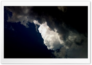 Scary Clouds HD Wide Wallpaper for Widescreen