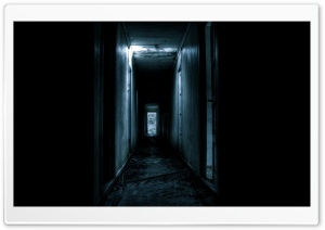 Scary Corridor HD Wide Wallpaper for Widescreen