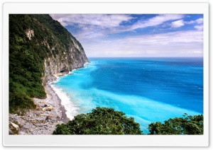 Scenic Area, Qingshui Cliff, Taiwan HD Wide Wallpaper for Widescreen