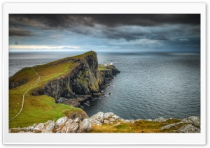Scenic View, Neist Point, Isle of Skye, Scotland Ultra HD Wallpaper for 4K UHD Widescreen desktop, tablet & smartphone