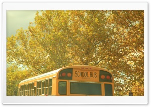 School Bus Nostalgia HD Wide Wallpaper for 4K UHD Widescreen desktop & smartphone