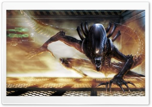 Sci-Fi Alien HD Wide Wallpaper for Widescreen