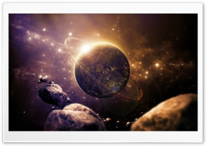 Sci fi Planet Ultra HD Wallpaper for 4K UHD Widescreen desktop, tablet & smartphone