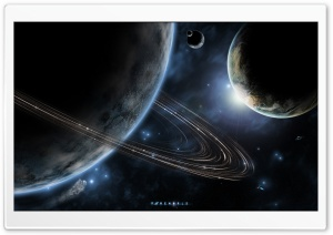 Sci Fi Planets HD Wide Wallpaper for Widescreen