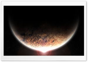 Scorched Planet HD Wide Wallpaper for Widescreen
