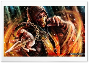 Scorpion a Sub Zero Ultra HD Wallpaper for 4K UHD Widescreen desktop, tablet & smartphone