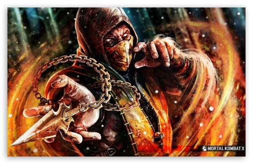 Scorpion a Sub Zero UltraHD Wallpaper for Wide 16:10 5:3 Widescreen WHXGA WQXGA WUXGA WXGA WGA ; 8K UHD TV 16:9 Ultra High Definition 2160p 1440p 1080p 900p 720p ; Mobile 5:3 16:9 - WGA 2160p 1440p 1080p 900p 720p ;