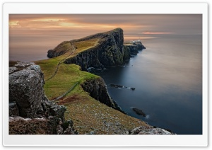 Scotland Coast LightHouse HD Wide Wallpaper for Widescreen