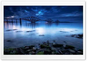 Scotland The Forth Bridge Landscape HD Wide Wallpaper for 4K UHD Widescreen desktop & smartphone